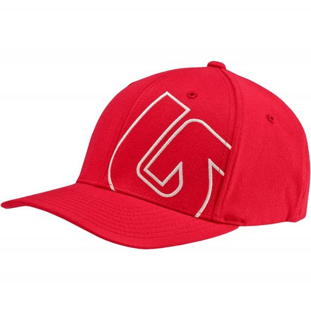 Burton - - SLIDESTYLE FLEX FIT HAT - XX - Mars Red