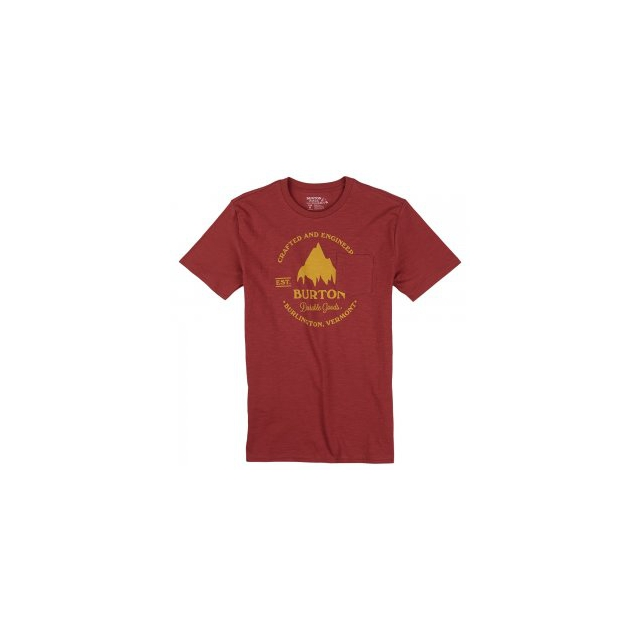 Burton - Gristmill Slim Short Sleeve T-Shirt Men's, Dusty Cedar, L