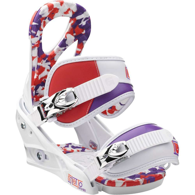 Burton - Stiletto Smalls Snowboard Bindings Small - Kid's