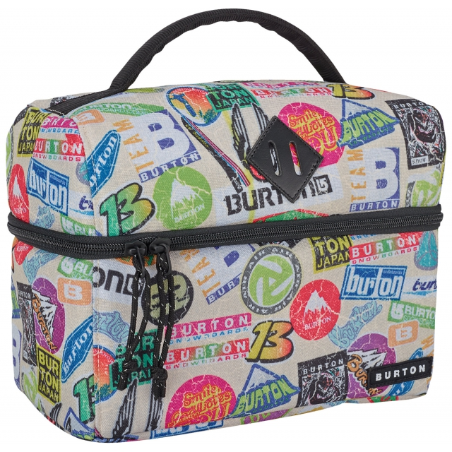 Burton - - Lunch Caddy - Sticker Print