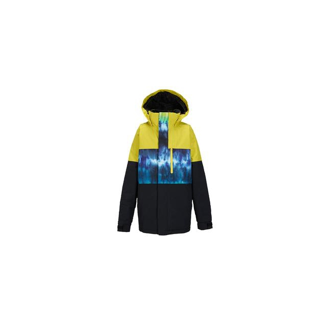 Burton - Symbol Insulated Snowboard Jacket Boys', Surfstripe Black, L