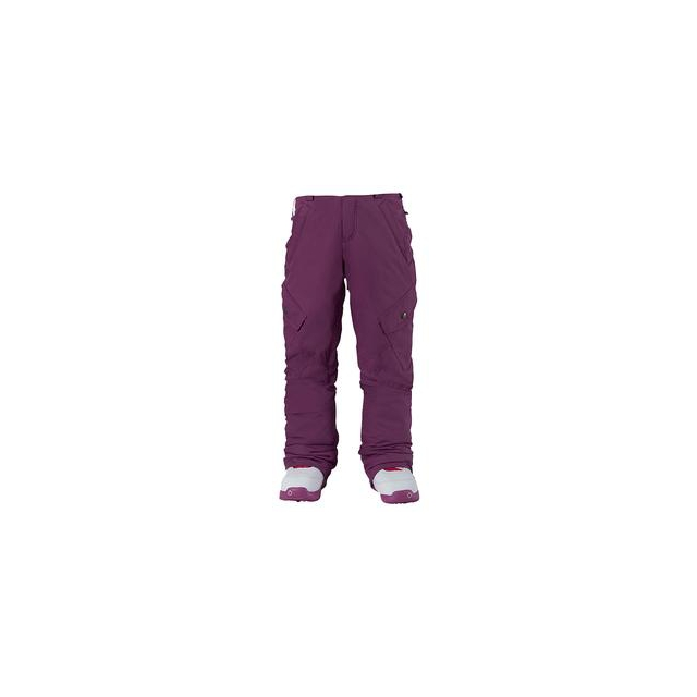 Burton - Elite Cargo Insulated Snowboard Pant Girls', Grapeseed, M