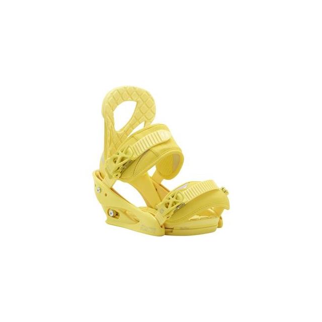 Burton - Stiletto Snowboard Binding Women's, Yellow, S