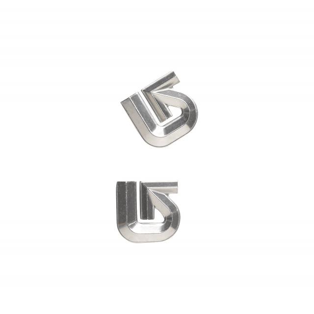 Burton - - Aluminum Logo Mat - Silver