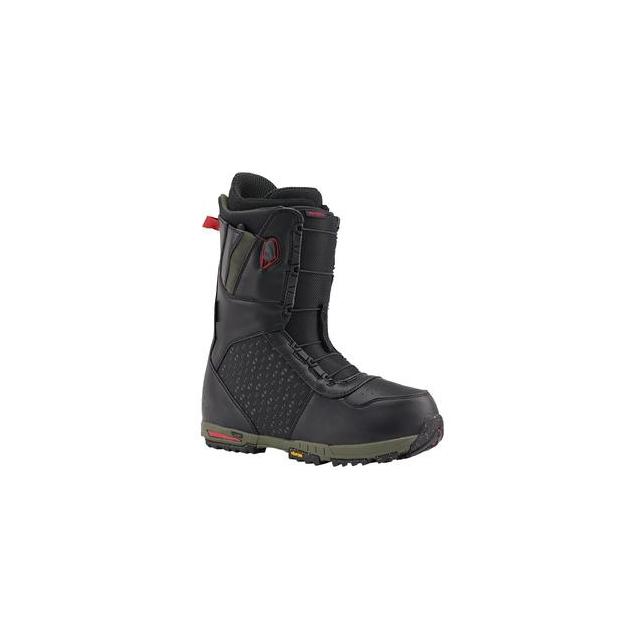Burton - Imperial Snowboard Boots Men's, Black/Green, 11.5