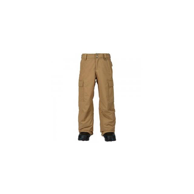 Burton - Exile Cargo Insulated Snowboard Pant Boys', Kelp, L