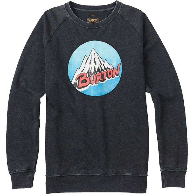 Burton - Men's Retro Mountain Crew Sweatshirt