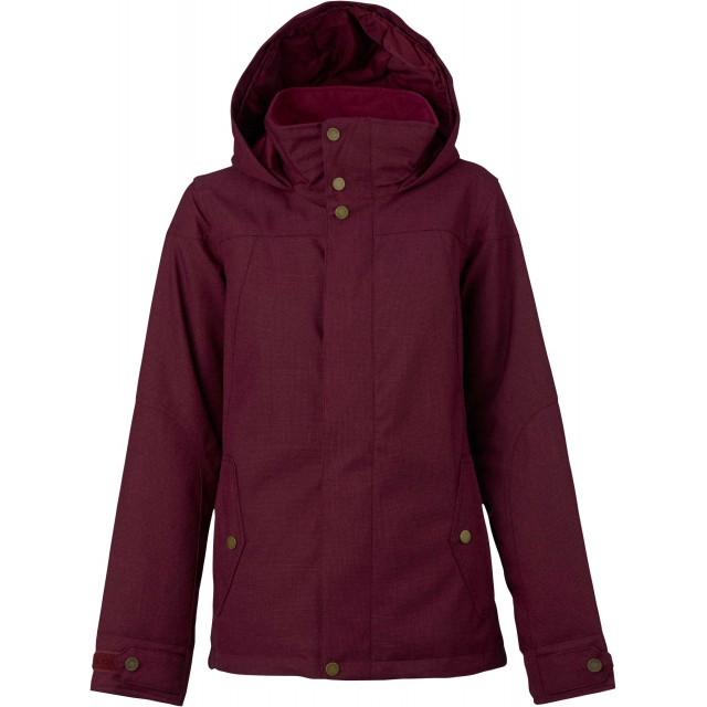 Burton - - Jet Set Jacket W - X-SMALL - Sangria