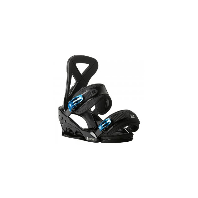 Burton - Custom Re:Flex Snowboard Binding Men's, Black, L