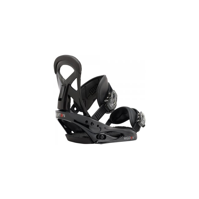 Burton - Mission Smalls Snowboard Bindings Kids', Black, S