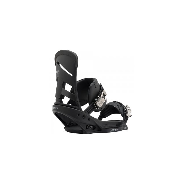Burton - Mission EST Snowboard Bindings Men's, Black, L