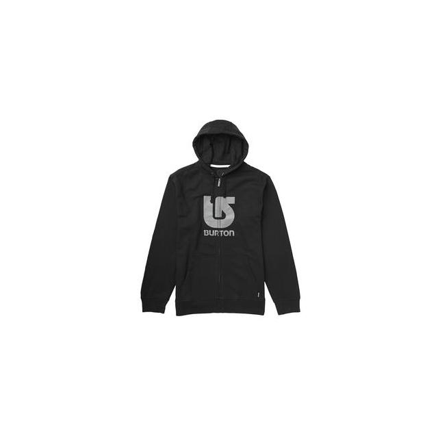 Burton - Logo Vertical Full-Zip Hoodie Men's, True Black, XL