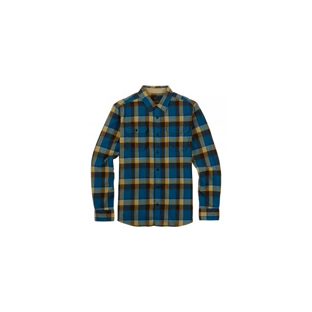 Burton - Brighton Flannel Shirt Men's, Glacier Blue Impulse, M