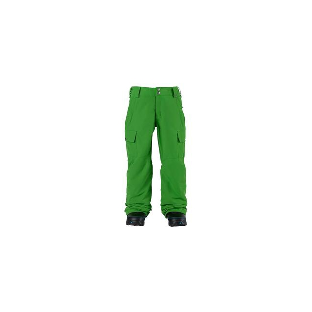 Burton - Exile Cargo Insulated Snowboard Pant Boys', Slime, M