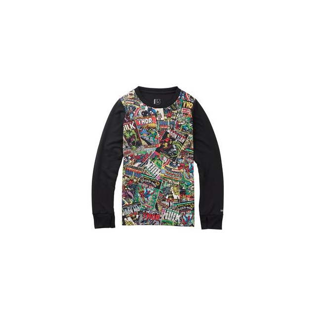 Burton - Marvel Tech Tee Baselayer Boys', Marvel, XS