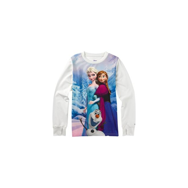 Burton - Frozen Tech Tee Baselayer Girls', Frozen, XS