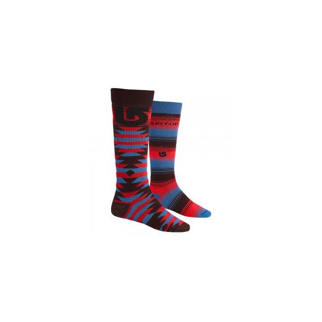 Burton - Weekend 2-Pack Snowboard Socks Men's, Mocha, L