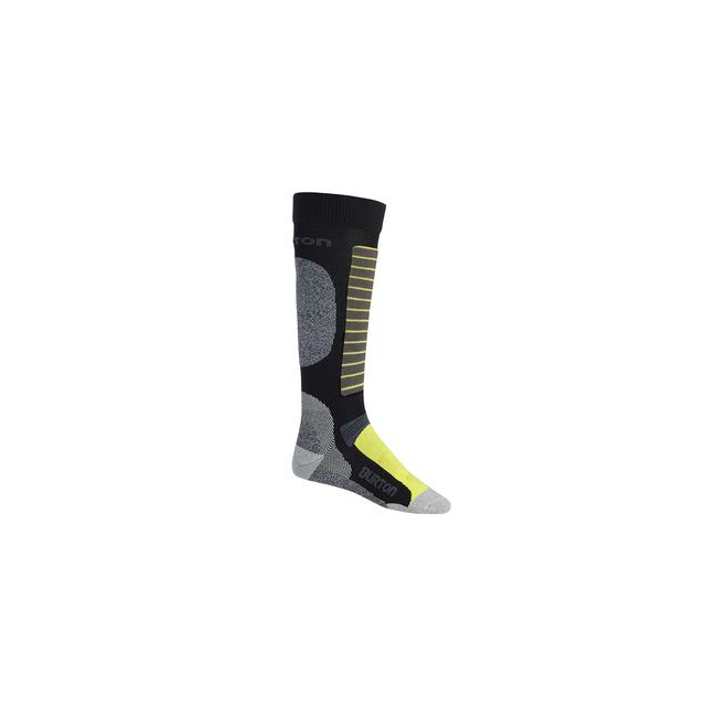 Burton - Merino Phase Snowboard Sock Men's, True Black, L