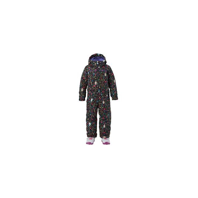 Burton - Minishred Insulated One Piece Snowboard Suit Girls', Elsa Anna Frozen Print, 18_24M