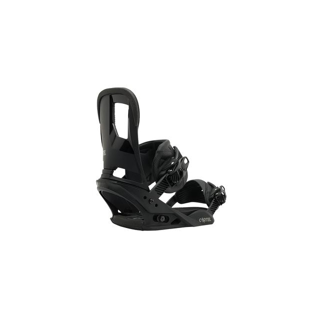 Burton - Cartel Snowboard Bindings Men's, Black, M