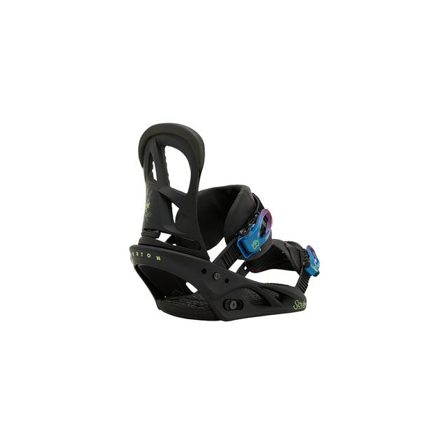 Burton - Scribe Snowboard Bindings Women's, Second Black, S