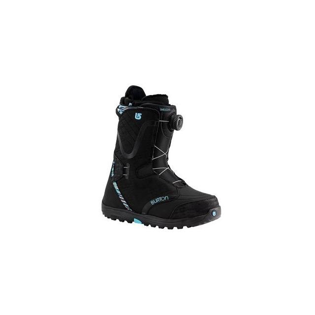 Burton - Limelight Boa Snowboard Boots Women's, Black Snow Leopard, 6.5