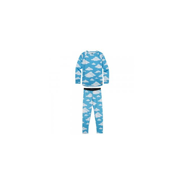 Burton - Lightweight Baselayer Set Girls', Partly Cloudy, L