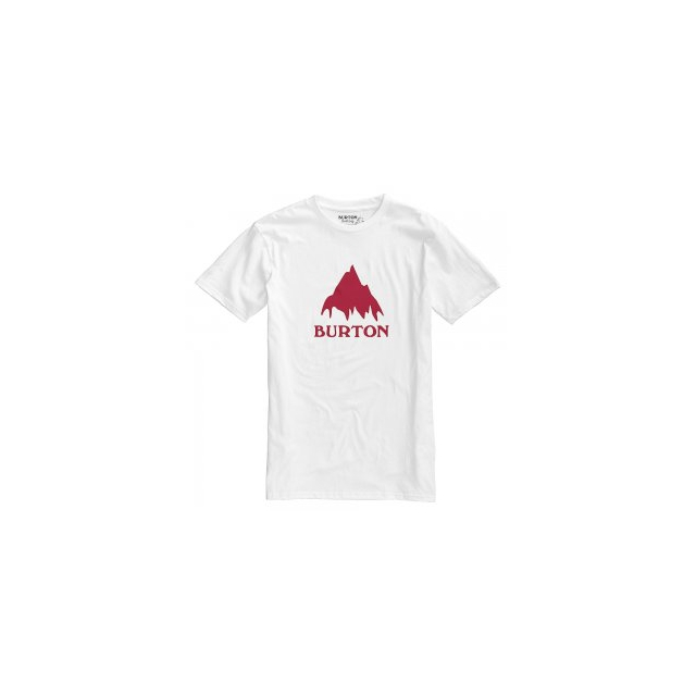 Burton - Classic Mountain Short Sleeve T-Shirt Men's, Stout White, L