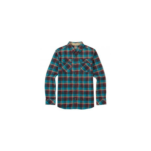 Burton - Brighton Flannel Shirt Men's, Larkspur Yolo Plaid, L