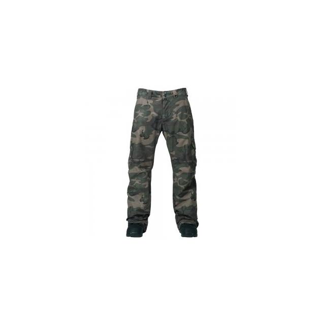 Burton - Cargo Mid Fit Insulated Snowboard Pant Men's, Bkamo, L