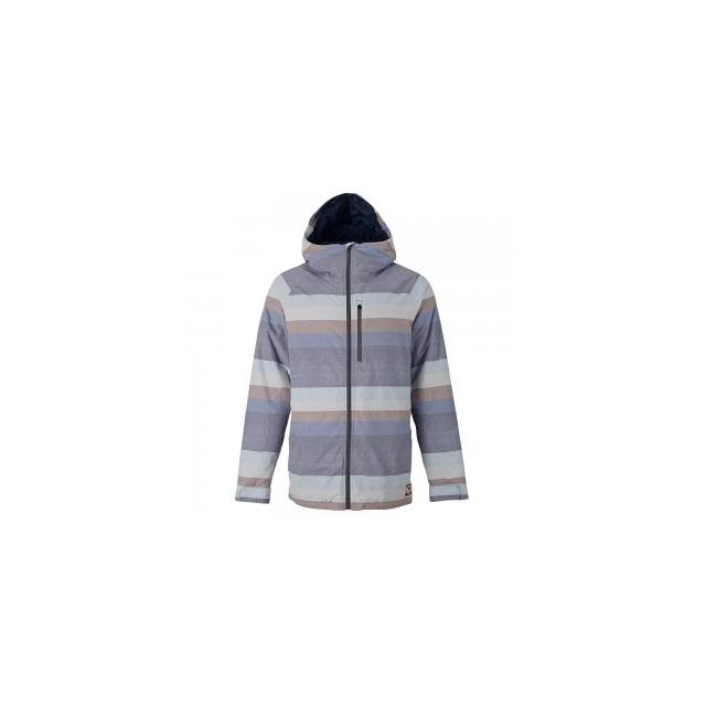 Burton - Hilltop Insulated Snowboard Jacket Men's, Faded Stripe, L