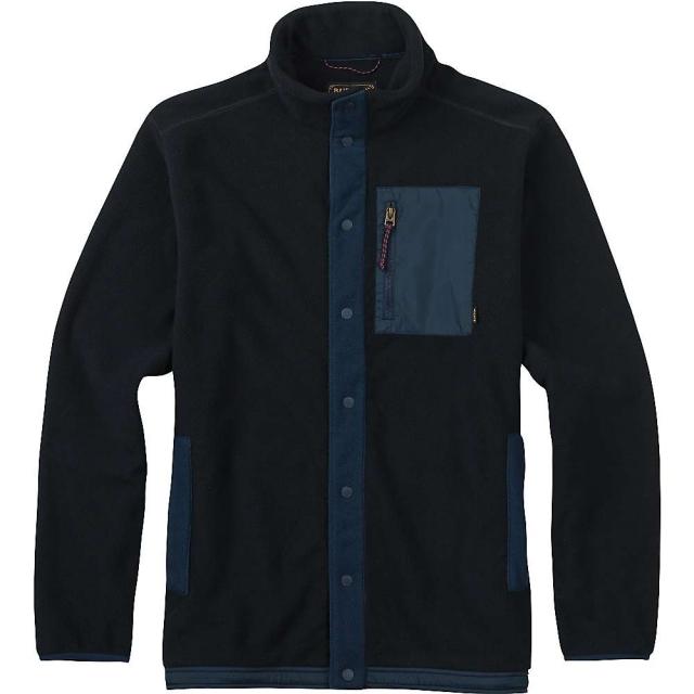 Burton - Men's Hearth Snap-Up Fleece Top