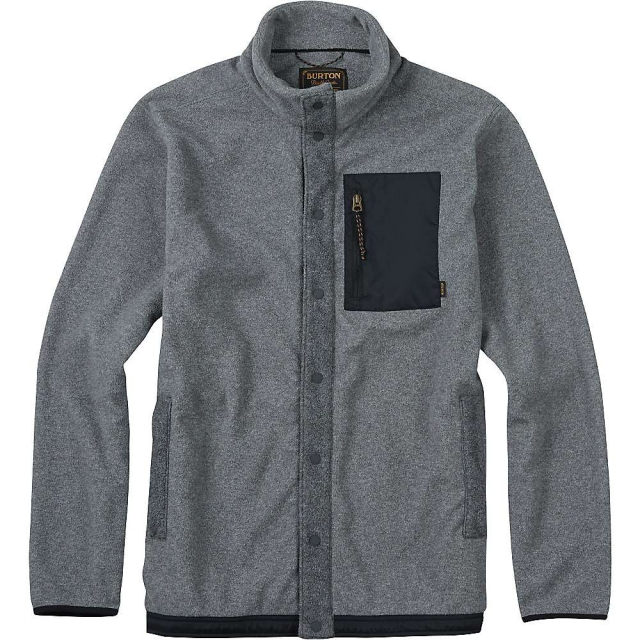 Burton - Men's Hearth Snap-Up Fleece Top