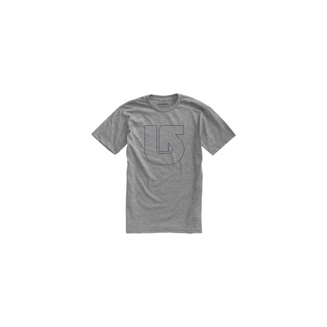 Burton - Pinner Short Sleeve T-Shirt Men's, Heather Grey, L