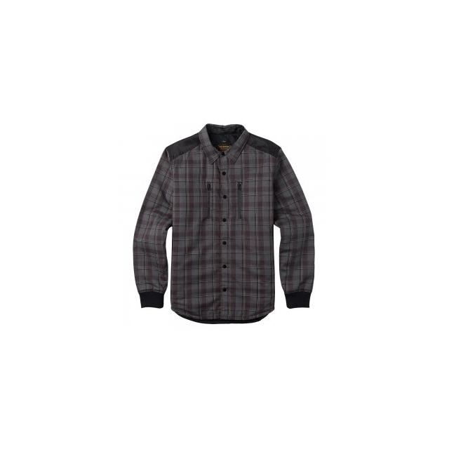 Burton - Field Quilted Flannel Insulated Jacket Men's, True Black Dumont Plaid, L