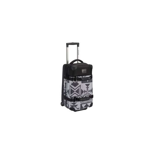Burton - Wheelie Flight Deck Luggage, Neu Nordic Print