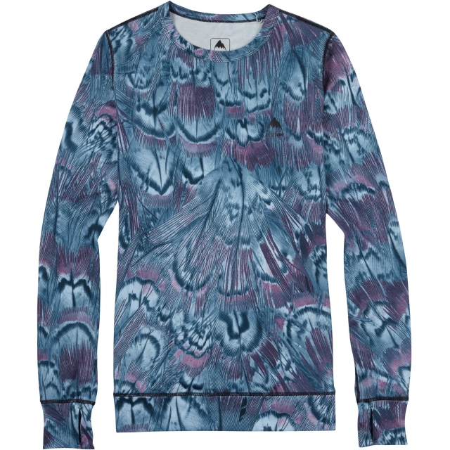 Burton - - Midweight Crew W - X-SMALL - Feathers