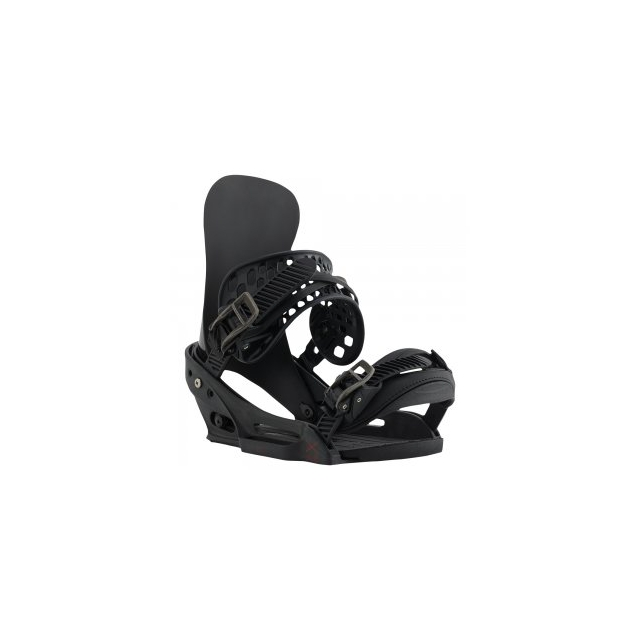 Burton - X-Base EST Snowboard Bindings Men's, Black, M