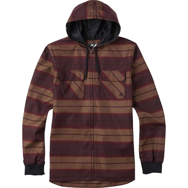 Burton - Men's Analog Integrate Hooded Flannel Shirt