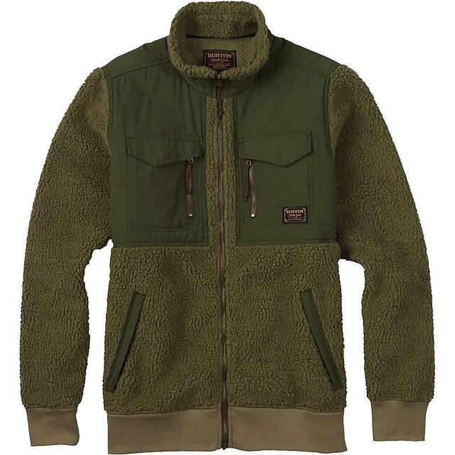 Burton - Men's Bower Full Zip Fleece Jacket
