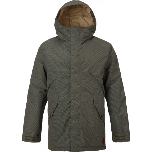 Burton - - Breach Jacket M - X-LARGE - Underpass Twill Keef Kelp