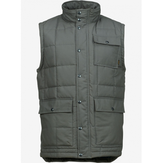 Burton - - Woodford Vest M - MEDIUM - Dark Ash