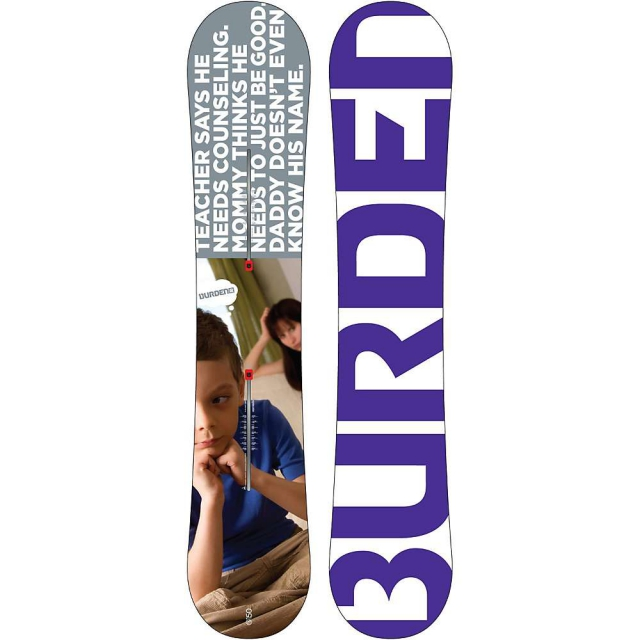 Burton - Burden Snowboard 150 - Men's