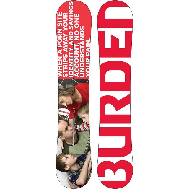 Burton - Burden Snowboard 154 - Men's