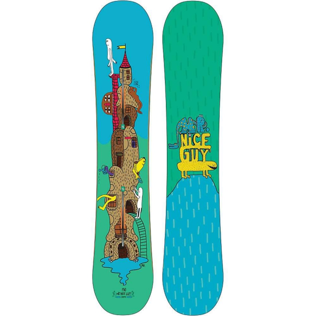 Burton - Mr. Nice Guy Snowboard 150 - Men's