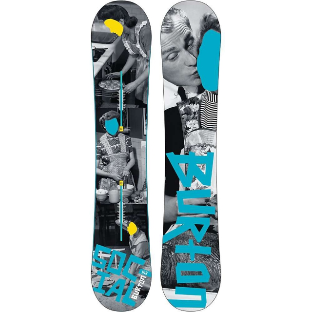 Burton - Social Restricted Snowboard 147 - Women's