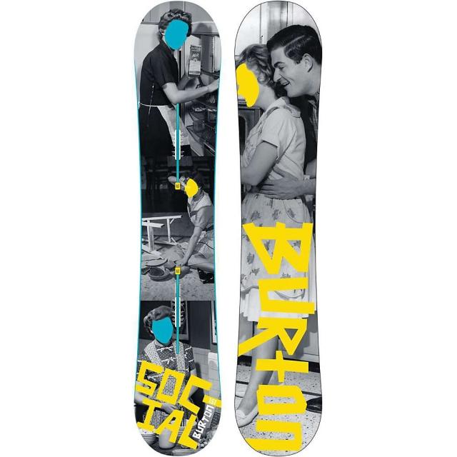 Burton - Social Restricted Snowboard 151 - Women's