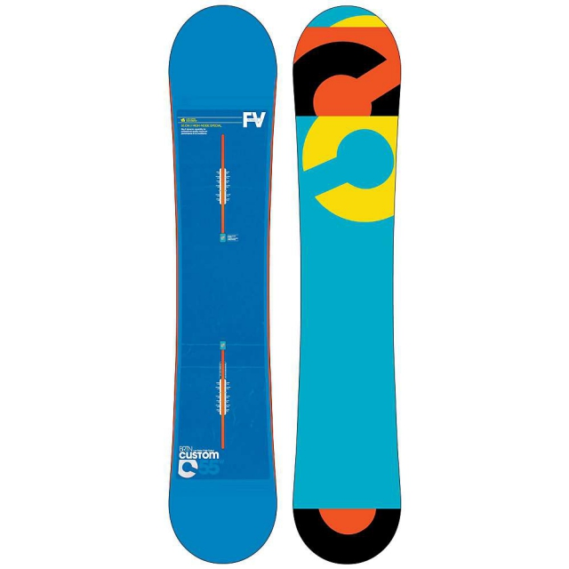 Burton - Custom Flying V Wide Snowboard 155 - Men's