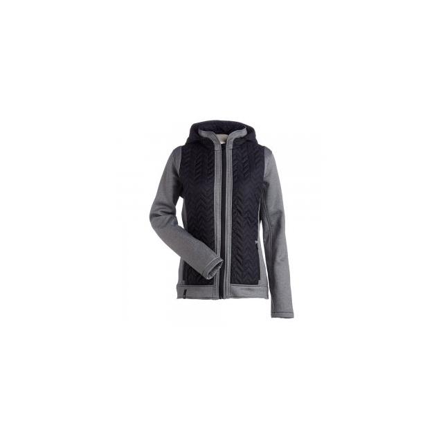 Nils - Nils Julie Insulator Jacket Women's, Black/Charcoal, L