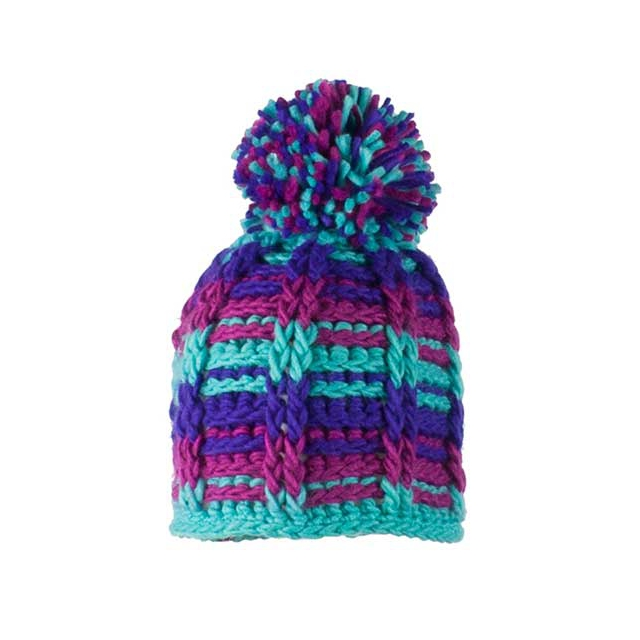 Obermeyer - Ski School Knit Hat - Girl's: Wintergreen, Small/Medium